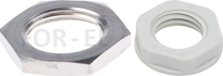 Locknut for cable gland